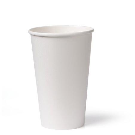 Koffiebekers To Go 340cc 16oz Wit Karton Ø 90mm (Klein-verpakking) Horecavoordeel.com