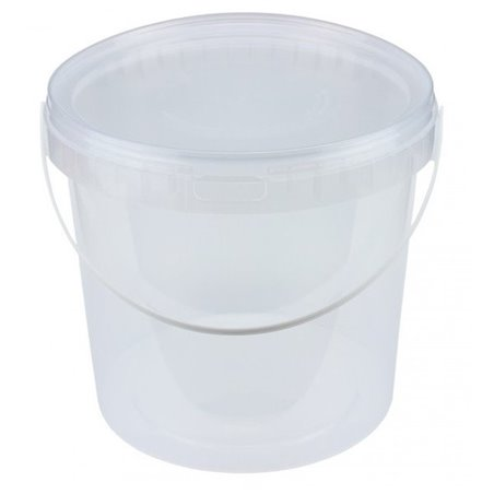 Emmers Transparant 5 Liter met Hengsel (Klein-verpakking) Horecavoordeel.com