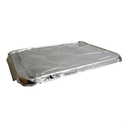 Deksels voor Aluminium Bakken voor 1 - 2 of 3-Vaks 227 x 177 x 2mm Horecavoordeel.com