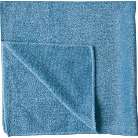 Microvezeldoek Blauw 40x40cm Eco62 Horecavoordeel.com