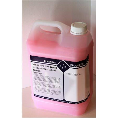 Handzeep Roze (EM) Geparfumeerd (Klein-verpakking) Horecavoordeel.com