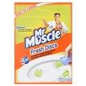 Toiletblok Mr. Muscle Fresh Disks Lime Horecavoordeel.com