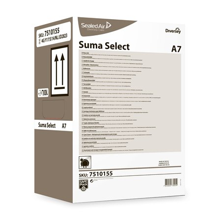 Naglansmiddel Zacht-middelhard Water Suma Select A7 Safe pack Horecavoordeel.com