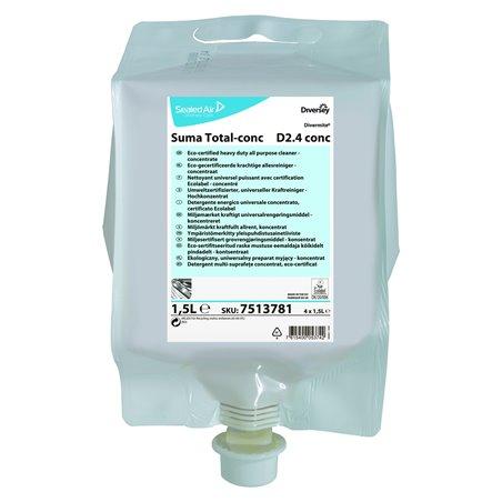 Allesreiniger Suma Total D2.4 Concentraat (Klein-verpakking) Horecavoordeel.com