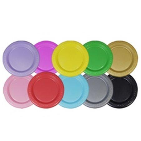 Borden Plastic Roze Ø 230mm (Klein-verpakking) Horecavoordeel.com