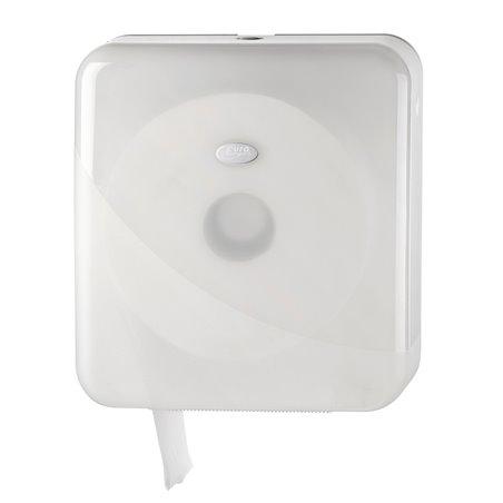 Toiletpapierdispenser Euro Maxi Jumbo Pearl White Horecavoordeel.com