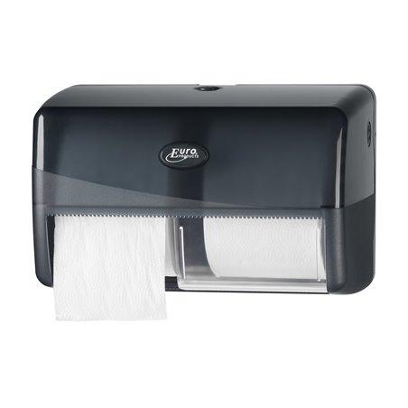 Toiletpapierdispenser Coreless Euro Duo Euro Pearl Black Horecavoordeel.com