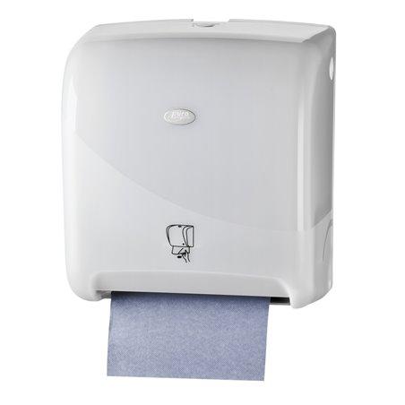 Handdoek Automaat Euro Matic Tear & go Pearl White Horecavoordeel.com