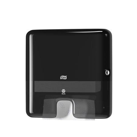 Handdoek dispenser Tork H2 Zwart Z-vouw Mini Horecavoordeel.com