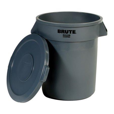 Afvalbak Rubbermaid Brute 75 Liter Met Deksel Horecavoordeel.com