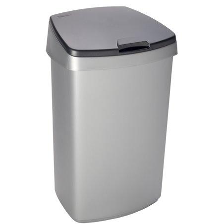 Afvalbak Curver Grijs 45 Liter Met Deksel Horecavoordeel.com