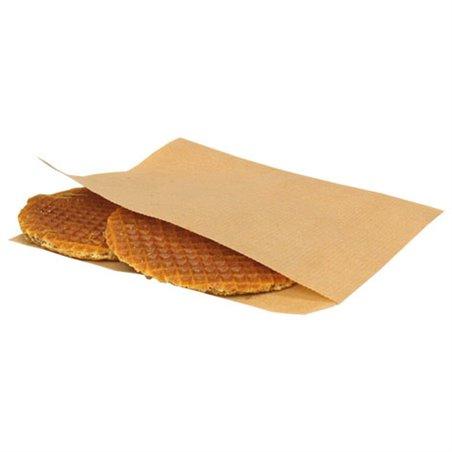 Shoarma Zakjes Papier Bruin Kraft 150 x 150mm Horecavoordeel.com