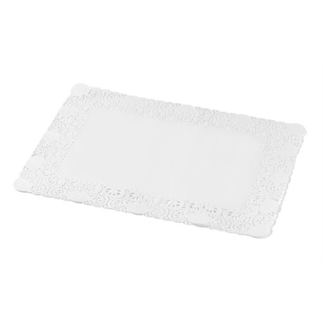 Taartranden Cellulose Wit Rechthoek 180 x 300mm Horecavoordeel.com