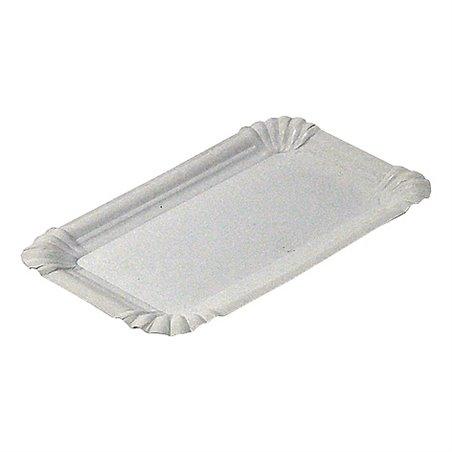 Vleeswarenschaaltjes Karton Wit Ongevoerd 180 x 260mm Horecavoordeel.com