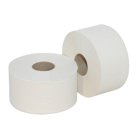 Toiletpapier Mini Jumbo (EM) 2 Laags 180m 720 Vel Horecavoordeel.com