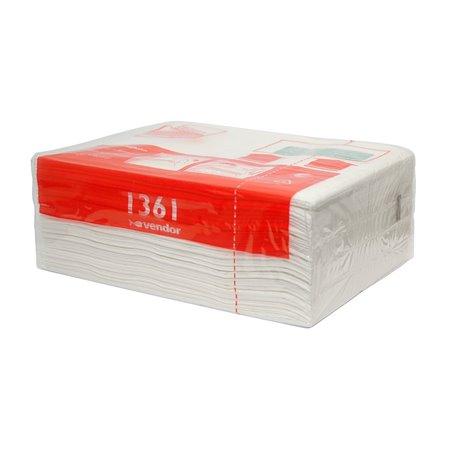 Handdoek Cassette Vendor 1361 2 Laags Horecavoordeel.com