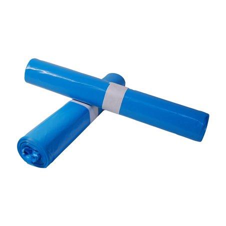 Afvalzakken 800 x 1100mm T70 Blauw Horecavoordeel.com