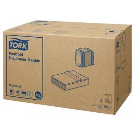 Dispenser Servetten Wit Tork N2 1 Laags 240 x 290mm Horecavoordeel.com