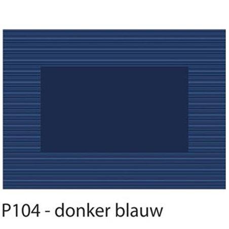 Placemats Blauw Papier 300 x 420mm (Klein-verpakking) Horecavoordeel.com