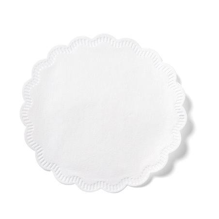 Onderzetter Wit Cellulose 8 Laags 75mm (Klein-verpakking) Horecavoordeel.com