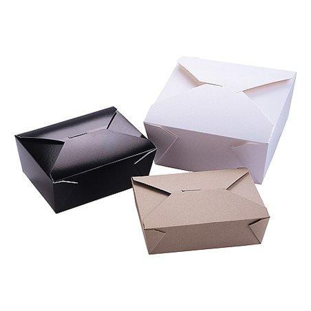Kartonnen Bakken 1470ml Biopack Plus 2 Earth Recycled Bruin 216 x 159 x 48mm (Klein-verpakking) Horecavoordeel.com