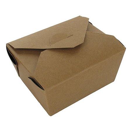 Kartonnen Bakken 775ml Biopack1 Earth Recycled 127 x 114 x 64mm Horecavoordeel.com