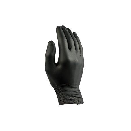 Handschoenen Nitril Zwart Poedervrij Extra Large Pro (Klein-verpakking) (DL) Horecavoordeel.com