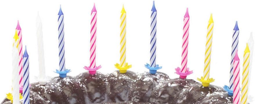 Verjaardagskaarsjes -Horecavoordeel.com-